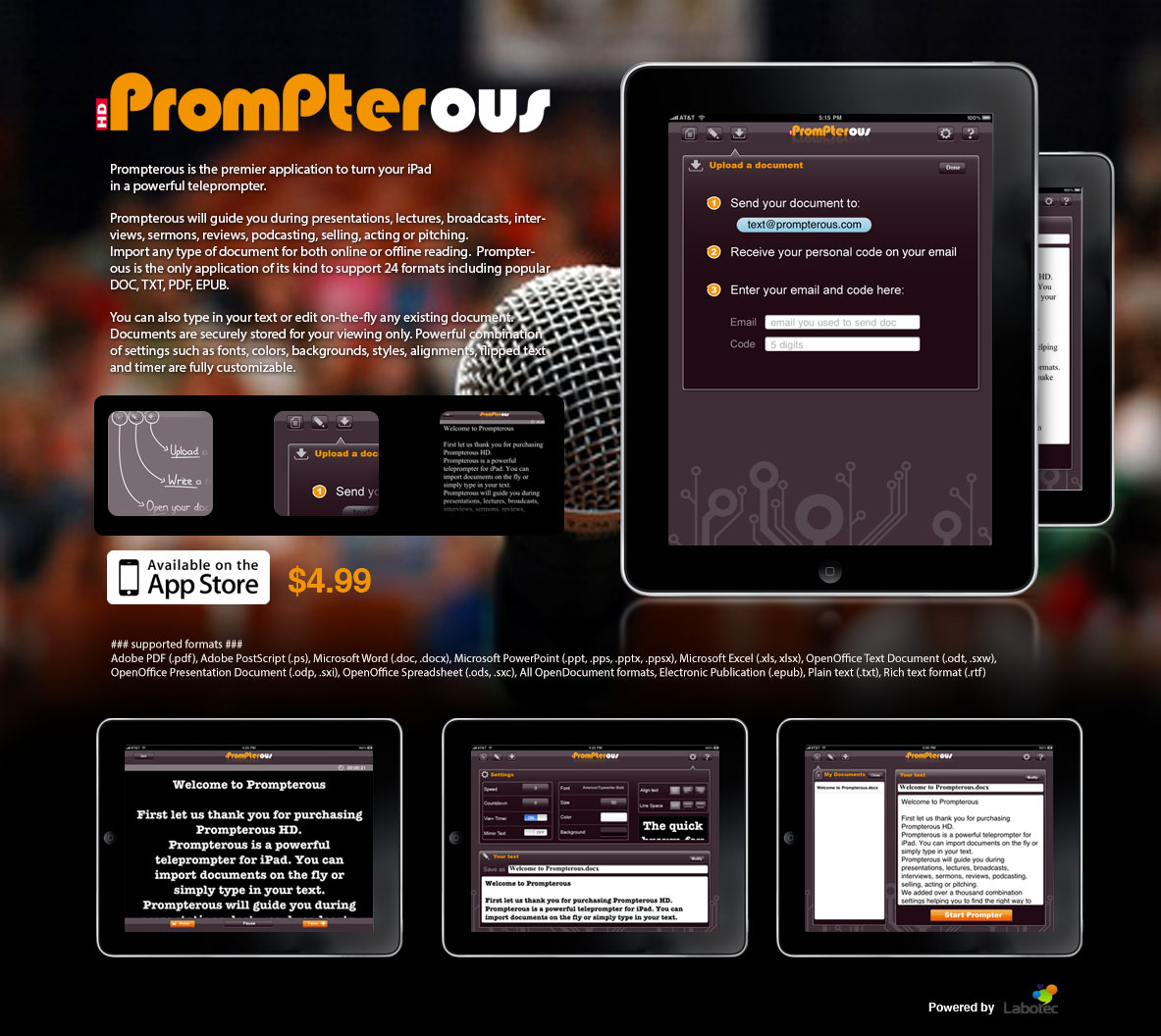 prompterous-homepage